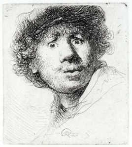 Rembrandt: he likes to watch.
