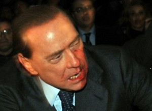 Silvio Berlusconi is not happy.